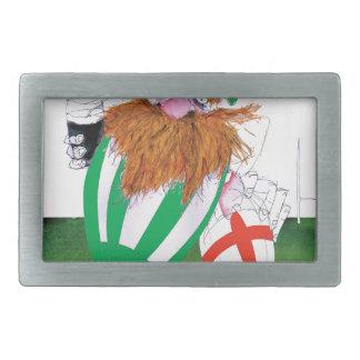 ireland v england rugby balls tony fernandes belt buckle