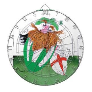 ireland v england rugby balls tony fernandes dartboard