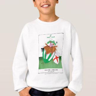 ireland v england rugby balls tony fernandes sweatshirt