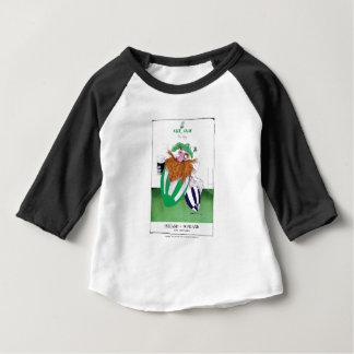 ireland v scotland rugby balls tony fernandes baby T-Shirt