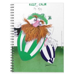 ireland v scotland rugby balls tony fernandes notebooks