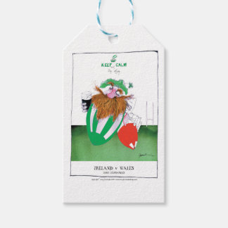 ireland v wales rugby balls tony fernandes gift tags