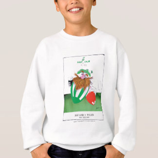 ireland v wales rugby balls tony fernandes sweatshirt