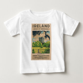 Ireland Vintage Travel Baby T-Shirt
