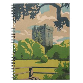 Ireland Vintage Travel Notebook
