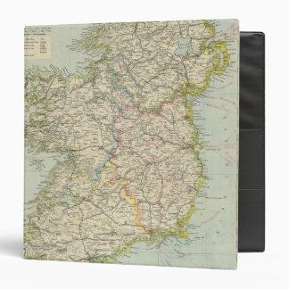Ireland Vinyl Binder