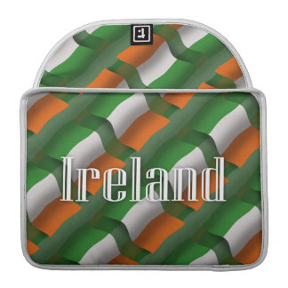 Ireland Waving Flag Sleeves For MacBook Pro