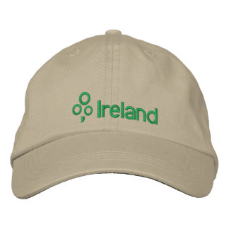 Ireland with Shamrock Embroidered Hats
