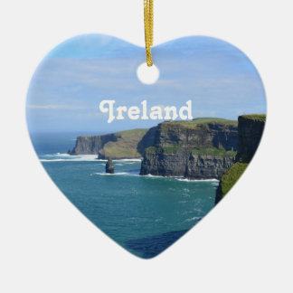 Ireland's Cliffs of Moher Ceramic Ornament