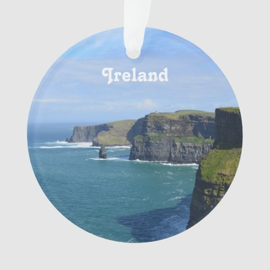 Ireland's Cliffs of Moher Ornament