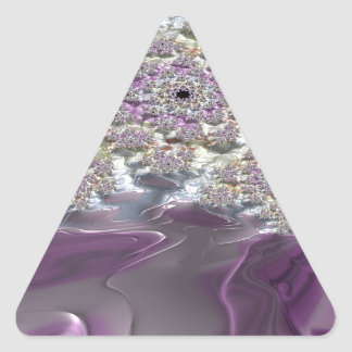 Irenic Abjurer Fractal 12 Triangle Sticker
