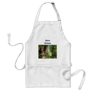 iRetire iBarbeque BBQ apron Retirement Retired