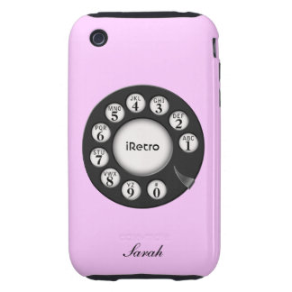 iRetro Rotary Old-school 3G iPhone Case Tough iPhone 3 Cover