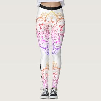 iRi Vibes-Mandala leggings (Sherbert)