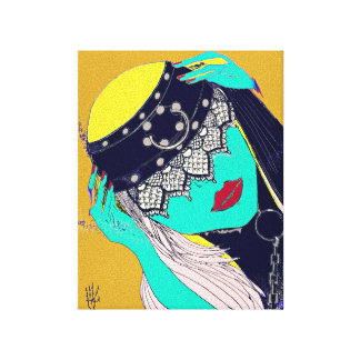 Iriana- Series Lives the Femme Canvas Print