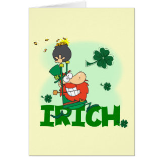 Irich St. Patrick's Day Tshirts and Gifts Card