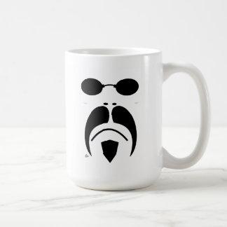 iRide Moustache Matrix Sunglasses Basic White Mug