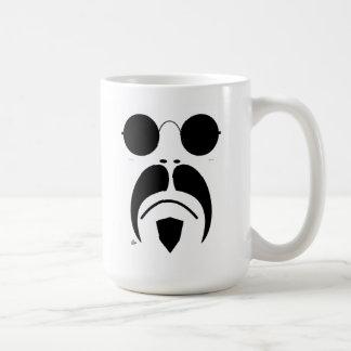 iRide Moustache Sunglasses Basic White Mug