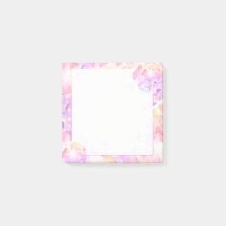 Iridescence Pink Lavender Compass Rhinestone Post-it® Notes