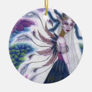 Iridescence Round Ornament