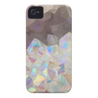 Iridescent Aura Crystals iPhone 4 Case