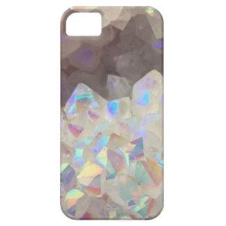 Iridescent Aura Crystals iPhone 5 Cases