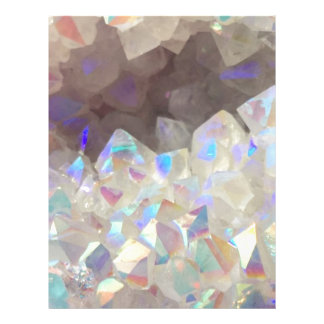 Iridescent Aura Crystals Letterhead