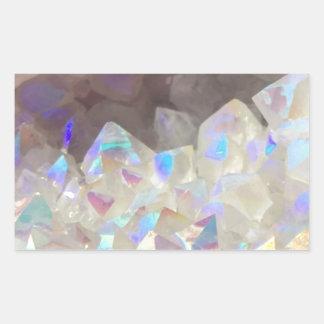Iridescent Aura Crystals Sticker