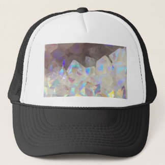 Iridescent Aura Crystals Trucker Hat