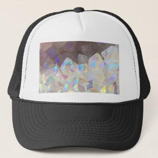 Iridescent Aura Crystals Trucker Hat