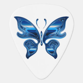 Iridescent Butterfly Guitar Pick