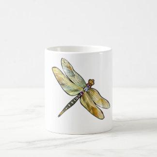 Iridescent Dragonfly Mug