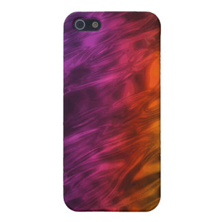 Iridescent Fire i iPhone 5 Cover