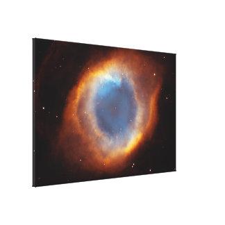 Iridescent Glory of Nearby Helix Nebula Canvas Print