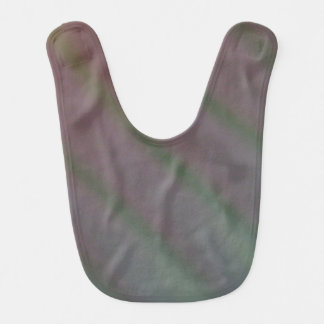 Iridescent Green and Purple Baby Bib