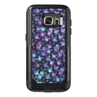 Iridescent Opalescent Spiral Pattern - Custom OtterBox Samsung Galaxy S7 Case