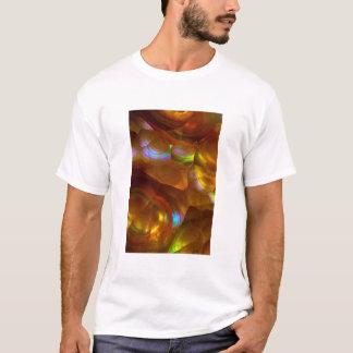 Iridescent orange fire opal T-Shirt