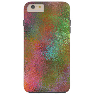 Iridescent Orange Liquid Tough iPhone 6 Plus Case