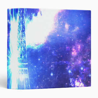 Iridescent Parisian Sky Binder
