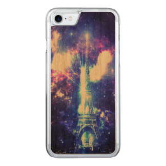 Iridescent Parisian Sky Carved iPhone 8/7 Case