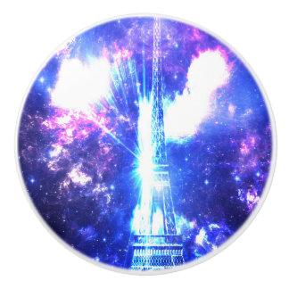 Iridescent Parisian Sky Ceramic Knob