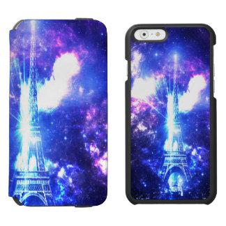 Iridescent Parisian Sky Incipio Watson™ iPhone 6 Wallet Case