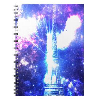 Iridescent Parisian Sky Notebook