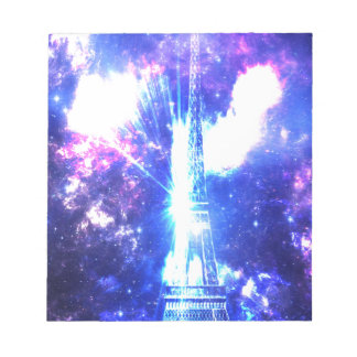 Iridescent Parisian Sky Notepad