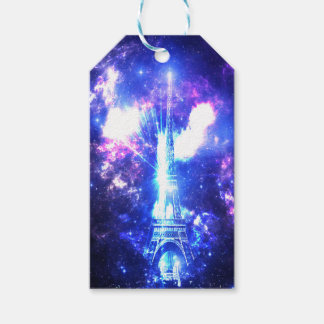 Iridescent Parisian Sky Pack Of Gift Tags