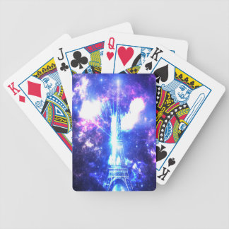 Iridescent Parisian Sky Poker Deck