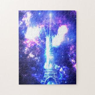 Iridescent Parisian Sky Puzzle