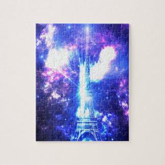 Iridescent Parisian Sky Puzzles