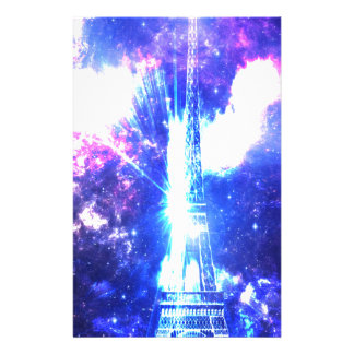 Iridescent​ ​Parisian​ ​Sky Stationery