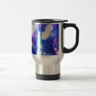 Iridescent​ ​Parisian​ ​Sky Travel Mug